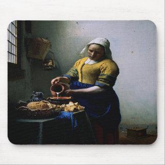 Mousepad con la pintura de Juan Vermeer Tapete De Ratones