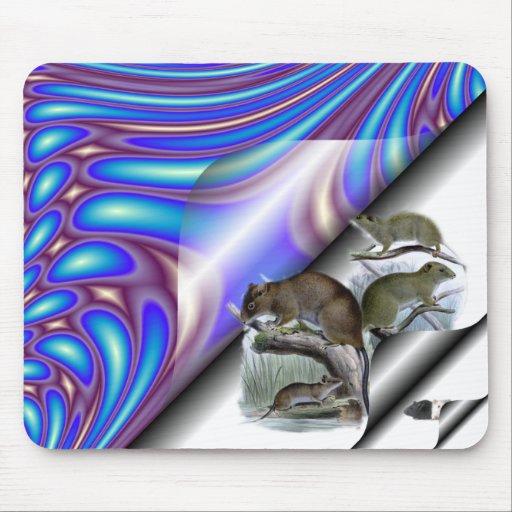 Mousepad con los Critters