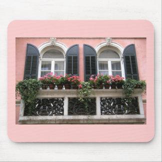Mousepad con una foto del balcón en Verona, Italia Alfombrilla De Ratones