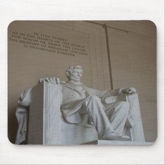 Mousepad conmemorativo del Washington DC de Abraha