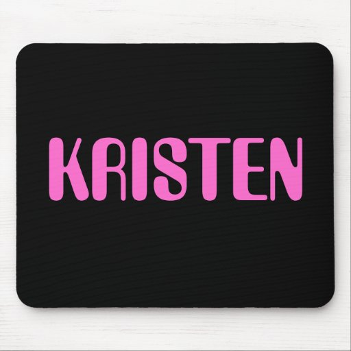 Mousepad conocido de Kristen Alfombrillas De Ratones