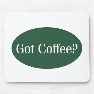 Mousepad conseguido de la camarera del café