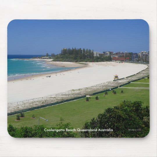 Mousepad Coolangatta Beach Queensland Australia