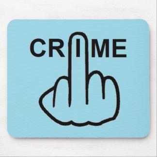 Mousepad Crime Is Criminal