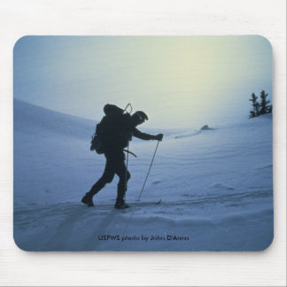 Mousepad / Cross Country Skier