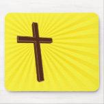 Mousepad cruzado cristiano alfombrilla de raton