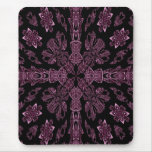 Mousepad cruzado púrpura y negro gótico tapete de raton