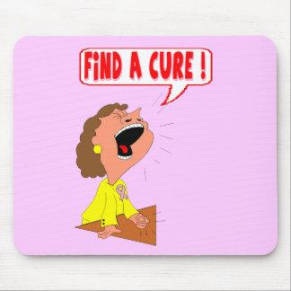 Mousepad - curación del cáncer de pecho