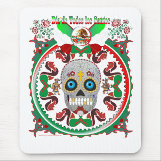 Mousepad-Day-of-the-Dead-Ver-1 Mouse Pad