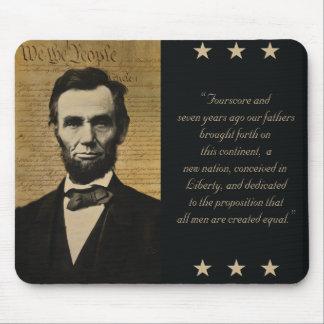 mousepad de Abraham Lincoln