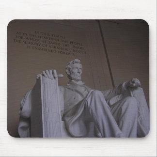 Mousepad de Abraham Lincoln Alfombrillas De Raton