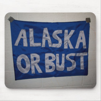 Mousepad de Alaska o del busto Tapete De Ratón