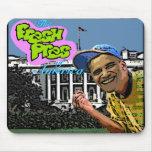 "Mousepad de Barack Obama ""Pres fresco de America™"" Tapete De Ratón"