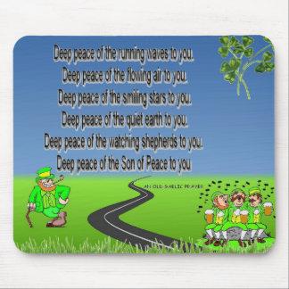 Mousepad de bendición irlandés