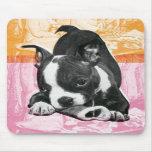 Mousepad de Boston Terrier Alfombrillas De Ratones