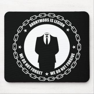 Mousepad de cadena anónimo