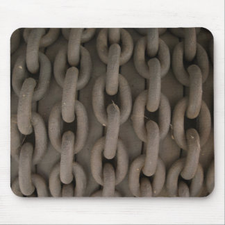 Mousepad de cadena oxidado