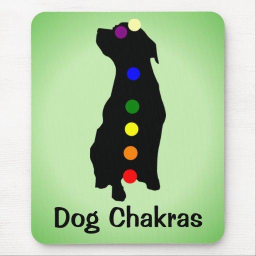 Mousepad de Chakras del perro Alfombrilla De Ratón