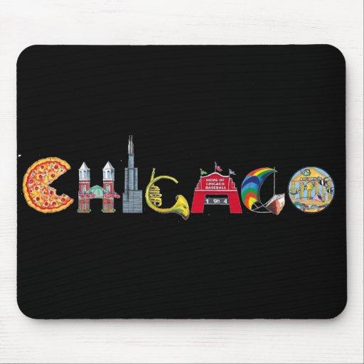 Mousepad de Chicago Tapete De Ratón