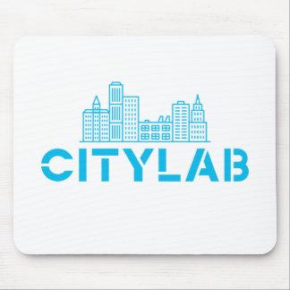 Mousepad de CityLab (diseño azul del horizonte)
