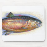 Mousepad de color salmón alfombrillas de raton