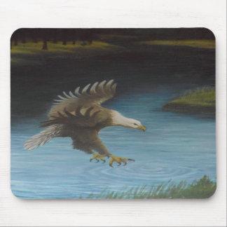 Mousepad de Eagle calvo Tapetes De Ratón