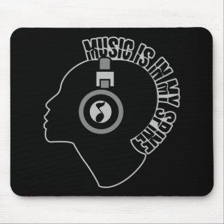 Mousepad de encargo del color de la música