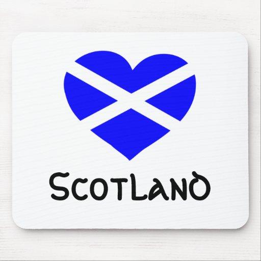 Mousepad de Escocia del amor