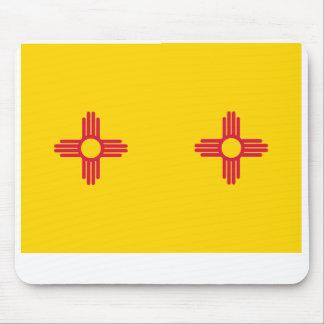 Mousepad de Flag_of_New_Mexico Alfombrillas De Raton