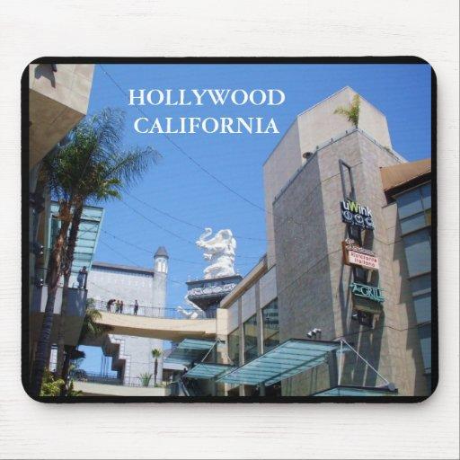 Mousepad de HOLLYWOOD, CALIFORNIA Tapetes De Ratones