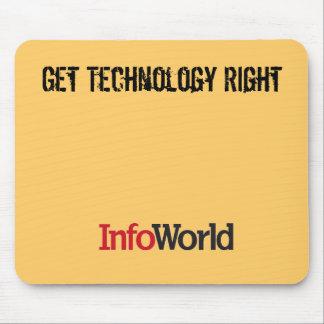 Mousepad de InfoWorld Tapetes De Raton