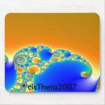 mousepad de la ameba tapete de ratón