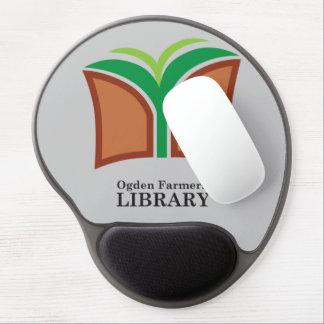 Mousepad de la ayuda del gel del logotipo de OFL Alfombrillas Con Gel