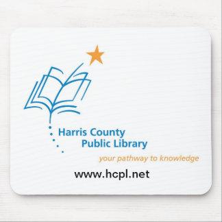 Mousepad de la biblioteca pública del condado de H Tapetes De Ratón