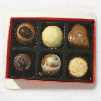 Mousepad de la caja del chocolate