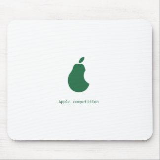 mousepad de la competencia-pera de la manzana