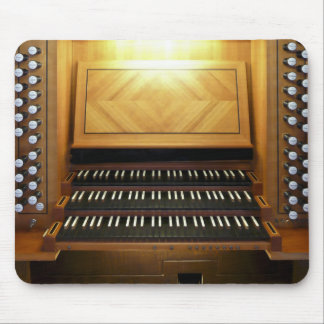 Mousepad de la consola del órgano de Villach