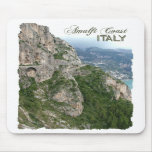 Mousepad de la costa de Amalfi Tapete De Ratón