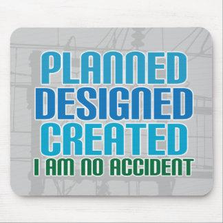 Mousepad de la creación: Planeado diseñado creado Tapete De Raton