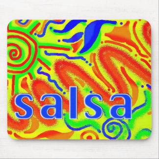 Mousepad de la diversión de la danza de la salsa