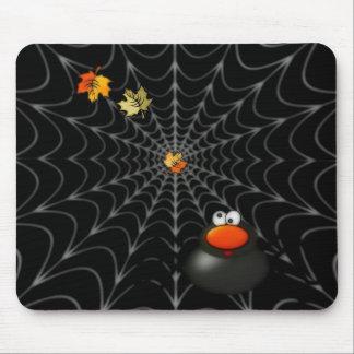 Mousepad de la diversión de la tela de araña alfombrilla de ratón
