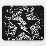 mousepad de la estrella de la salpicadura alfombrilla de ratones