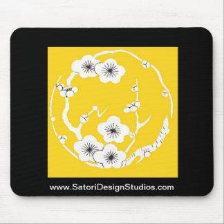 Mousepad de la flor de cerezo alfombrillas de ratón
