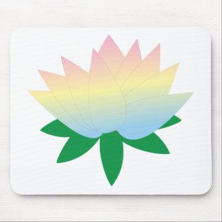 mousepad de la flor de loto tapetes de raton
