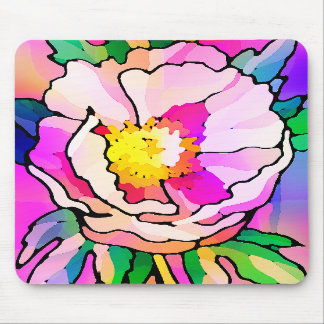 Mousepad de la flor alfombrillas de ratones
