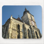 Mousepad de la iglesia de Brasov Tapetes De Raton