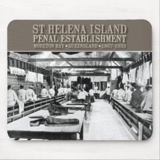 Mousepad de la isla de St. Helena Tapete De Ratón