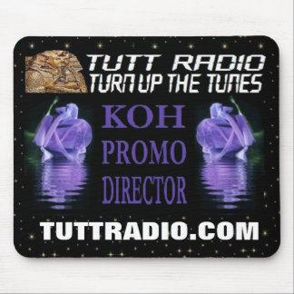 Mousepad de la KOH de radio de Tutt