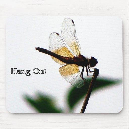 Mousepad de la libélula tapetes de raton