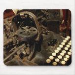 mousepad de la máquina de escribir del vintage tapetes de ratones